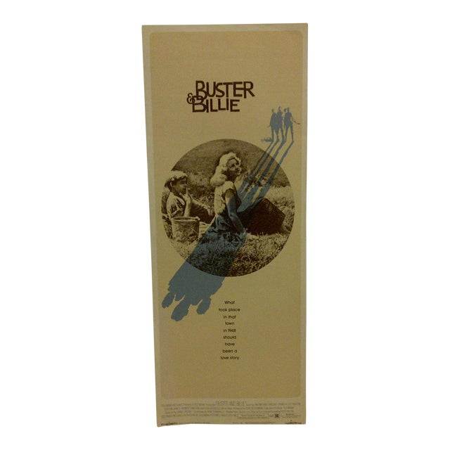 """""""Buster & Billie"""" Vintage Movie Poster 1974 For Sale"""