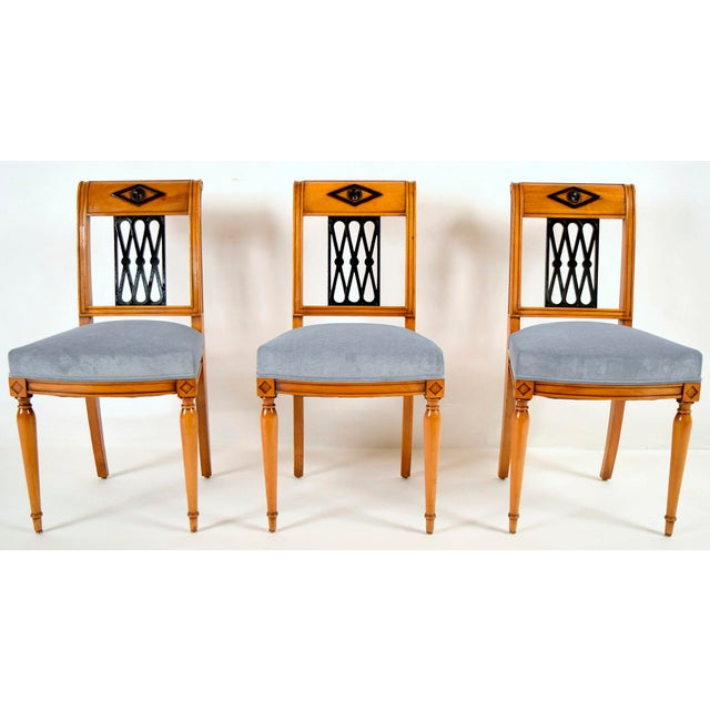 Empire-Style Dining Chairs - Set of 6 - Image 3 of 10