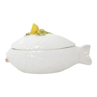 Italian Fish Tureen For Sale