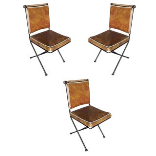 "Set of Three Mid-Century ""Directors Chair"" Chairs For Sale"