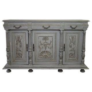 20th Century Italian Painted Oak Server For Sale