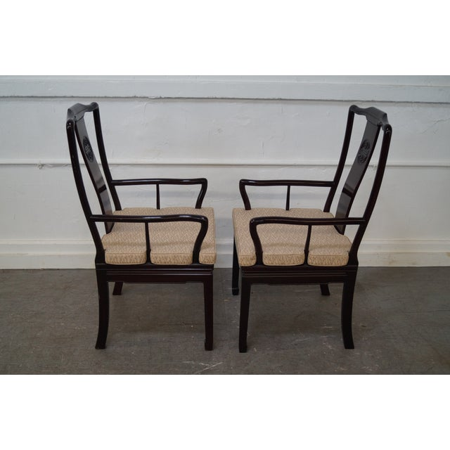 Quality Solid Chinese Rosewood Dining Chairs - 8 - Image 5 of 10