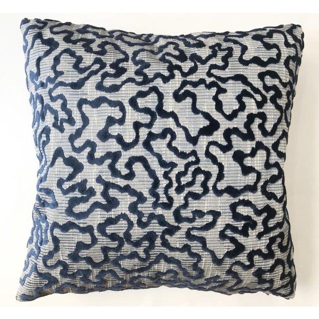 Schumacher Schumacher Janis Velvet Pillow For Sale - Image 4 of 4
