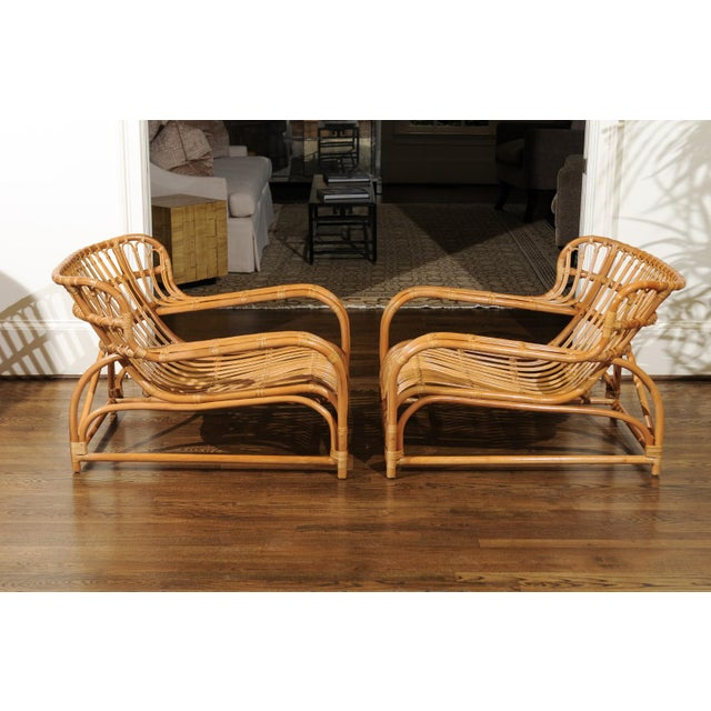 Spectacular Pair of Custom Commissioned Loungers After Viggo Boesen For Sale In Atlanta - Image 6 of 13