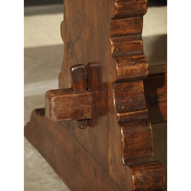 Antique Italy, 19th Century Oak Dining Table For Sale In Dallas - Image 6 of 11
