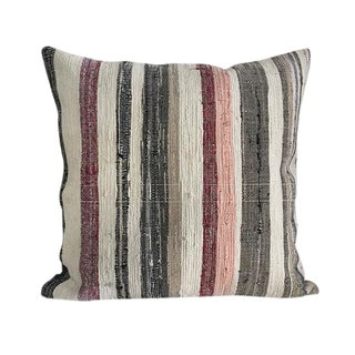Kim Salmela Turkish Square Kilim Pillow For Sale