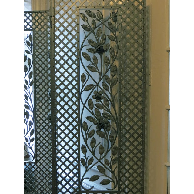 Antique French Deco Screen - Image 2 of 4