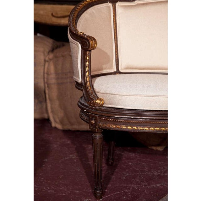 French Louis XVI Canape Signed Guillaume Grohe For Sale - Image 3 of 7