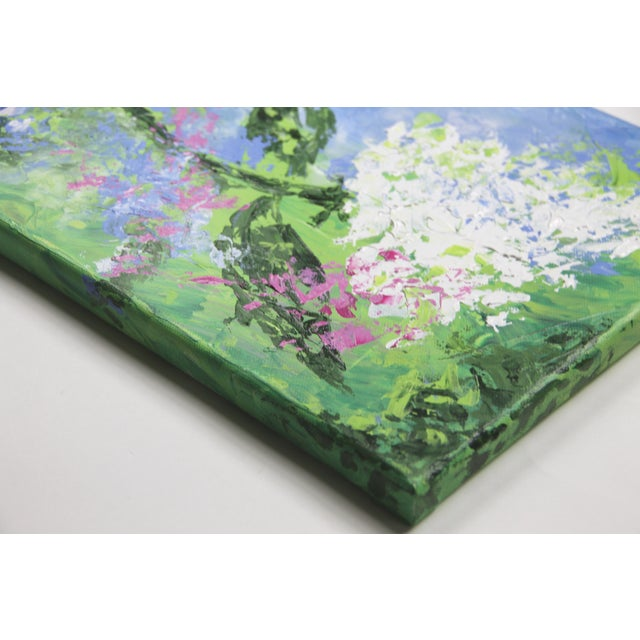 Hydrangea-Floral Painting by Celeste Plowden - Image 2 of 2