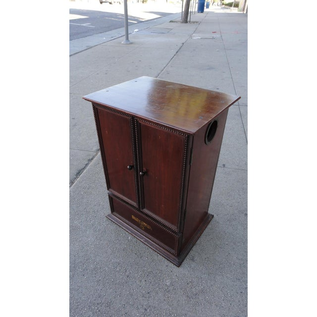 Gecophone Solid Mahogany Small Cabinet - Image 2 of 8