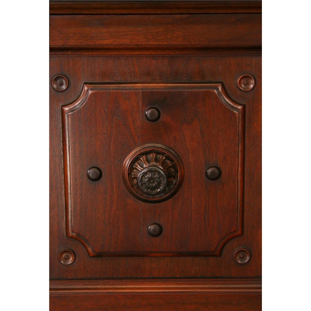 Antique 1900s Mahogany Cabinet - Image 5 of 8
