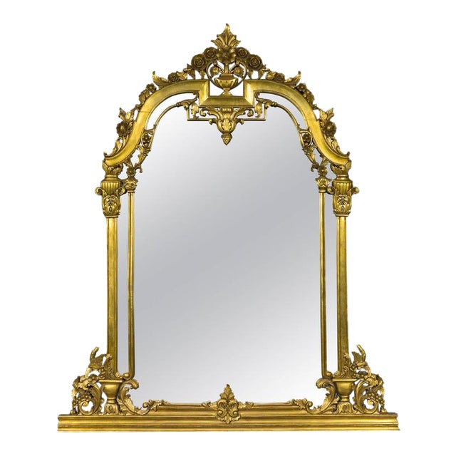 Renaissance Revival Style Mirror - Image 1 of 9