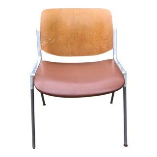 Mid-Century Modern Italian Chair DSC 106 Castelli Design by Giancarlo Piretti For Sale
