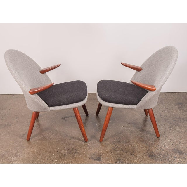 1950s Kurt Olsen Easy Chairs - a Pair For Sale - Image 5 of 11