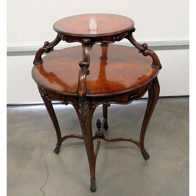 Maitland Smith Regency Style Dessert Table For Sale - Image 9 of 9