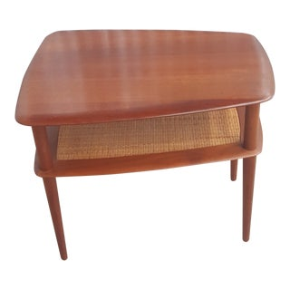 French and Son End Table By Jonh Sturat For Sale