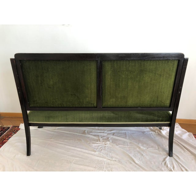 Very Rare Bentwood Salon Bench Nr. 14 by Thonet For Sale - Image 6 of 8