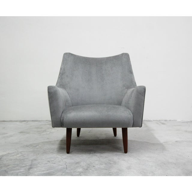 1960s Mid Century Danish Lounge Chair by Hans Olsen For Sale - Image 5 of 9