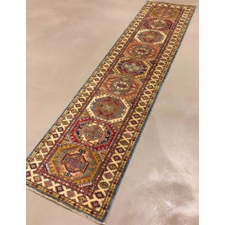 "Kazak Orange Style Runner Rug-2'6"" X 9'9"" Preview"
