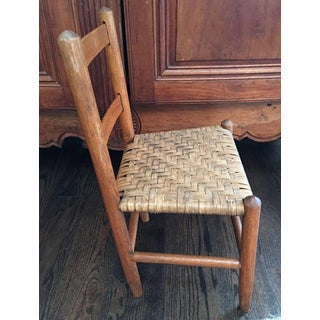 Rustic Early 20th Century Child's Chair Preview