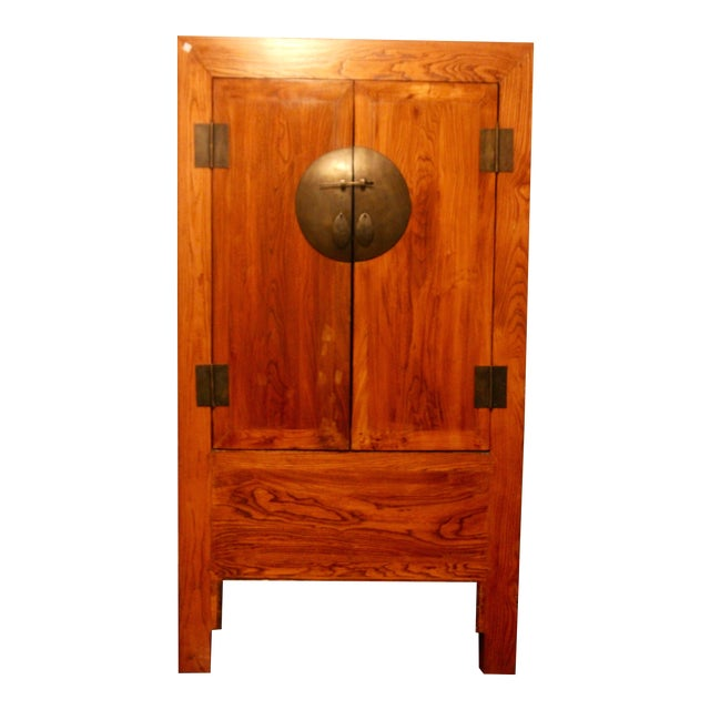 Chinese Antique Cabinet - Image 1 of 13 - Chinese Antique Cabinet Chairish