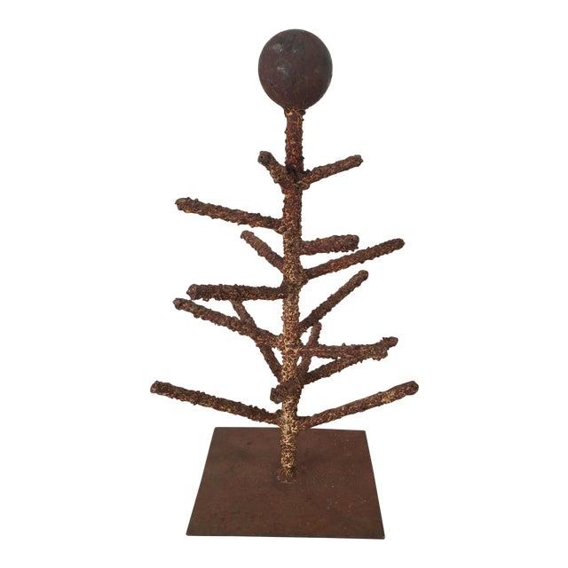 Brutalist Folk Art Tree Sculpture - Image 1 of 8