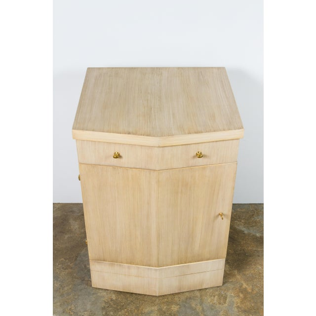 Paul Marra Pinnacle Nightstand in Bleached Douglas Fir - Image 4 of 7