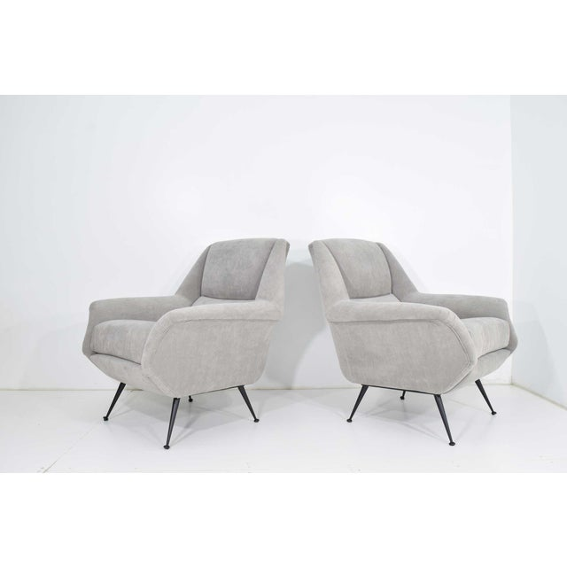 Gigi Radice Lounge Chairs - a Pair For Sale - Image 10 of 10