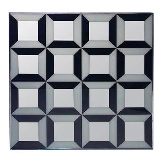 Verner Panton Op Art Mirror For Sale