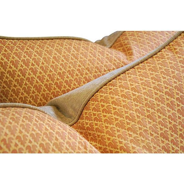 Designer Italian Fortuny Murillo Pillows - Pair - Image 7 of 7