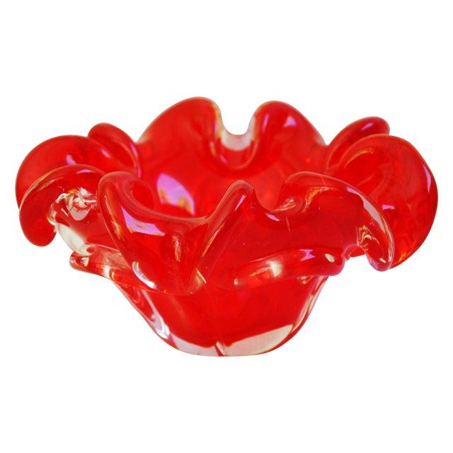 Mid-Century Italian Murano Art Glass Dish - Image 1 of 8