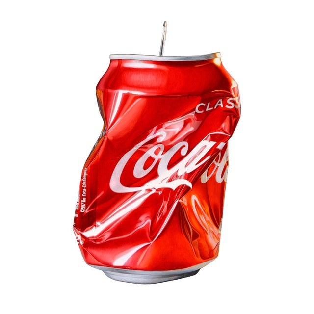 """""""Coca Cola"""" Drawing Limited Edition Giclée Print by Jack Verhaeg For Sale - Image 4 of 4"""
