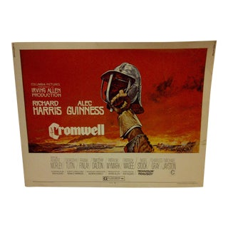 """Cromwell"" Vintage Movie Poster 1970 For Sale"
