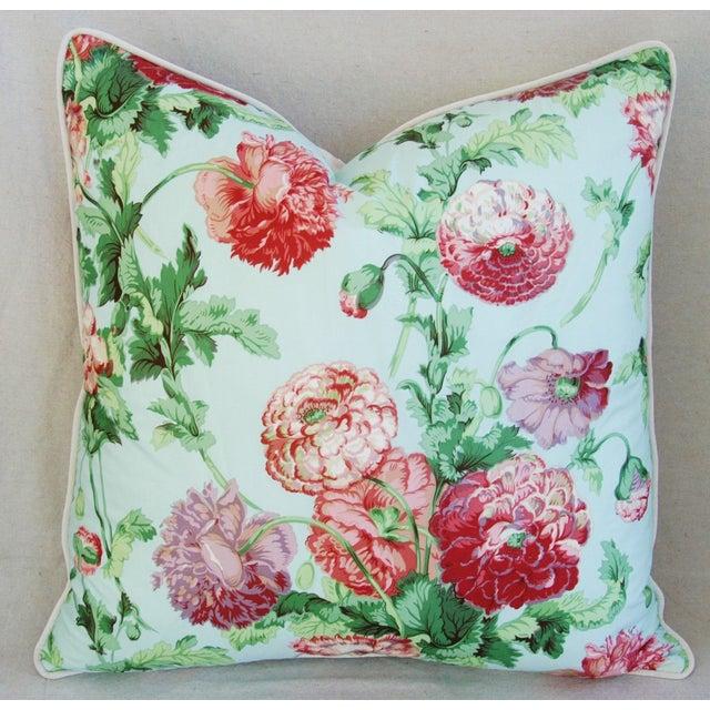 Designer Brunschwig & Fils Poppies Pillows - Pair - Image 5 of 9