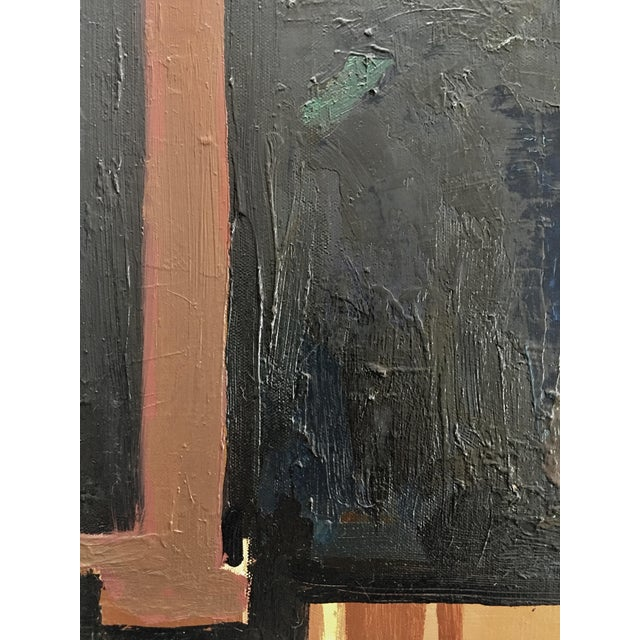 """Abstract Vintage """"142"""" Abstract Panting by Paul Rinaldi For Sale - Image 3 of 5"""
