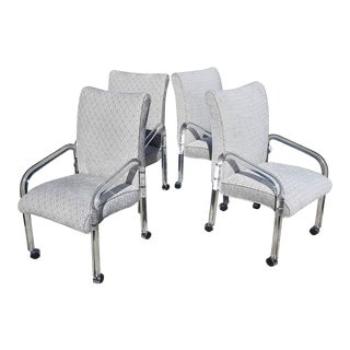 Leon Rosen Lucite Armchairs for Pace, 1970s For Sale