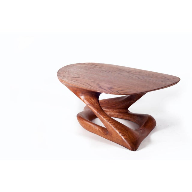 Contemporary Amorph Plie´ Coffee Table, American Walnut For Sale - Image 3 of 6