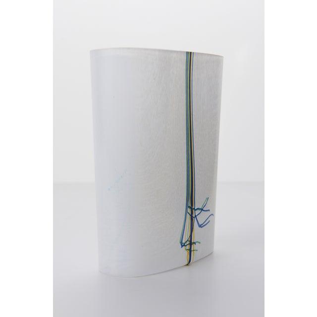 Bertil Vallien Kosta Boda Art Glass Vase - Image 4 of 9