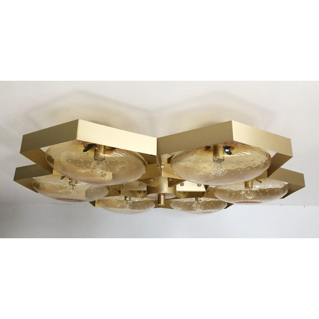Hive Flush Mount by Fabio Ltd For Sale In Palm Springs - Image 6 of 13