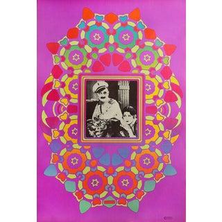 "1967 Peter Max ""Ben Turpin Cameo"" Print For Sale"