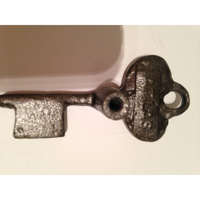 Asian Key Metal Knobs - Set of 10 For Sale - Image 3 of 3