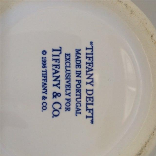 Tiffany & Co Delft Blue & White Pitcher - Image 6 of 6