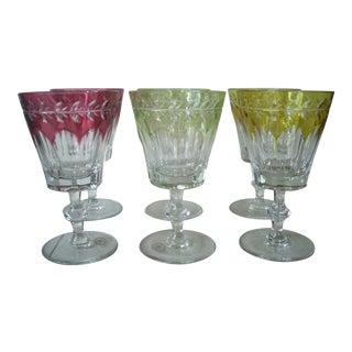 1980s Cased Crystal Goblets - Set of 6 For Sale