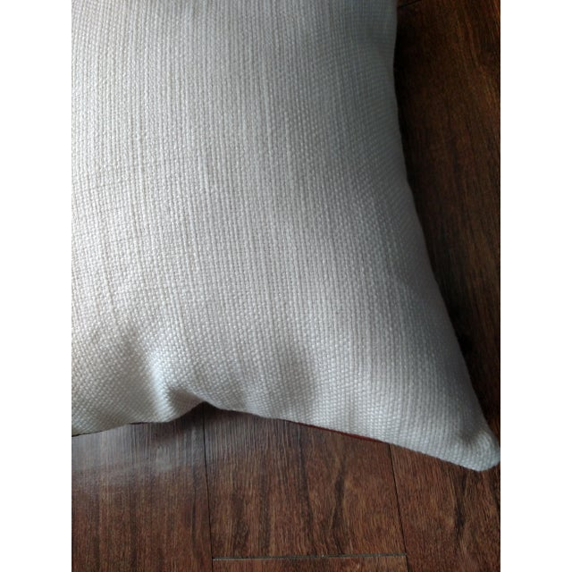 Leather Pillows - Set of 2 For Sale - Image 4 of 4