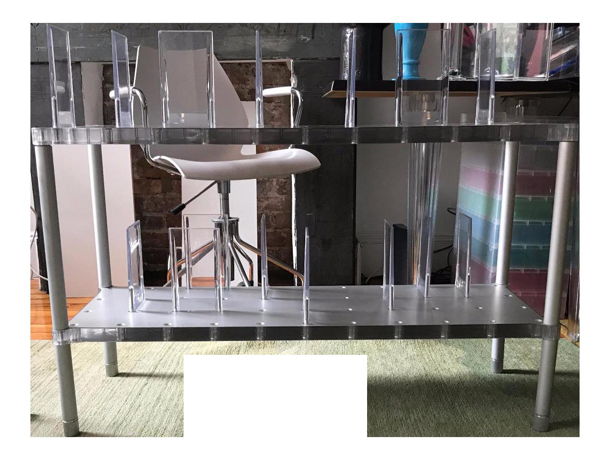 Alberto Meda For Kartell Italia Partner Collection Shelving System   Image  1 Of 6