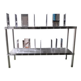 Final Markdown Alberto Meda for Kartell Italia Partner Collection Shelving System