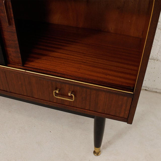 G-Plan E Gomme Ltd. English Modern Sideboard Bar Cabinet - Image 4 of 9