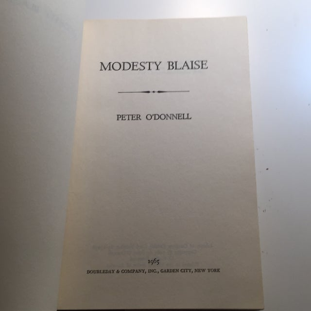 """1965 Peter O'Donnell """"Modesty Blaise"""" Book For Sale - Image 5 of 7"""