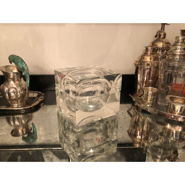 1960s 1960s Mid-Century Modern Lucite Ice Bucket For Sale - Image 5 of 9