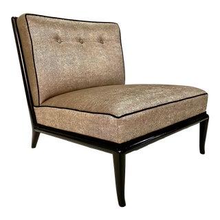 t.h. Robsjohn Gibbings Slipper Chair For Sale